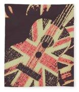 Second British Invasion Fleece Blanket