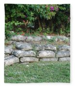 Secret Block Wall Fleece Blanket