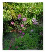 Secret Garden Fleece Blanket