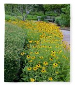 Secret Garden Fleece Blanket
