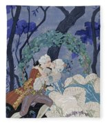 Secret Kiss Fleece Blanket