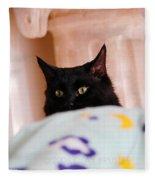 Secret Mission For Catnip Fleece Blanket