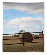 Secure Fence Fleece Blanket