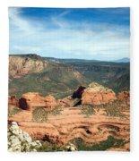 Sedona, Arizona Fleece Blanket
