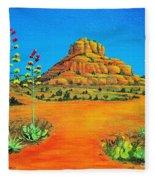Sedona Bell Rock Fleece Blanket