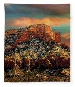 Sedona Dawn Fleece Blanket