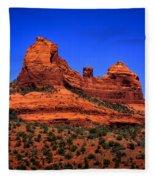 Sedona Rock Formations Fleece Blanket