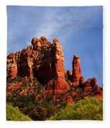Sedona Rocks Fleece Blanket