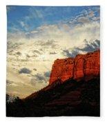 Sedona Sunset  Fleece Blanket