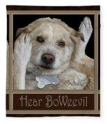 See Boweevil Fleece Blanket