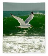 See Gull Fleece Blanket
