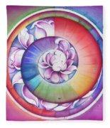 Seed Of Life - Mandala Of Divine Creation Fleece Blanket