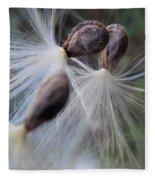 Seeds Ready For Take Off Fleece Blanket