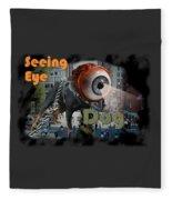 Seeing Eye Dog Fleece Blanket
