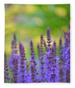 Seeing Purple Fleece Blanket