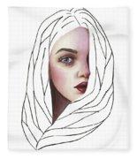 Seeing You Fleece Blanket
