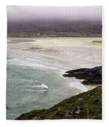 Seilebost Beach Fleece Blanket