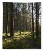 Seitseminen National Park Fleece Blanket