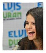 Selena Gomez Fleece Blanket