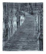 Selenium Boardwalk  Fleece Blanket