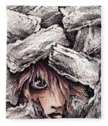 Self Destructive Fleece Blanket
