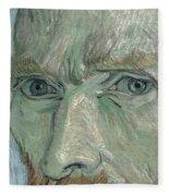 Self-portrait 2 Fleece Blanket