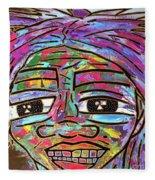 Self Portrait 2018 Fleece Blanket