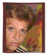 self portrait IV Fleece Blanket