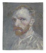 Self-portrait Paris, July   August 1887 Vincent Van Gogh 1853  1890 Fleece Blanket