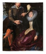 Self Portrait With Isabella Brandt, His First Wife, In The Honey Fleece Blanket