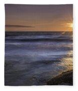 Selkirk Shores Sunset Fleece Blanket