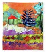 Sellersville Sunset Fleece Blanket