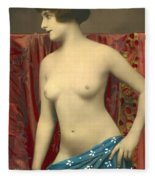 Semin Nude Girl Fleece Blanket