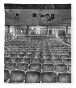 Senate Theatre Seating Detroit Mi Fleece Blanket