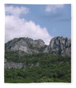 Seneca Rocks Fleece Blanket