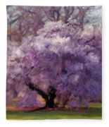Sensual Secrets Where Passion Blooms Fleece Blanket