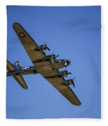 Sentimental Journey In Flight Fleece Blanket