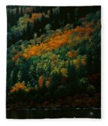 Sentinels Of September Serenity Fleece Blanket