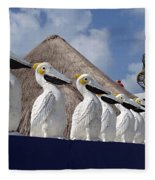 Sentry Pelicans Fleece Blanket