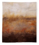 Sepia Wetlands Fleece Blanket