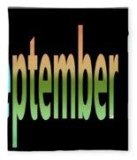 September 10 Fleece Blanket