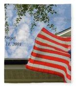 September 11 Fleece Blanket