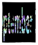 September 13 Fleece Blanket