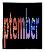 September 17 Fleece Blanket