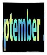 September 23 Fleece Blanket