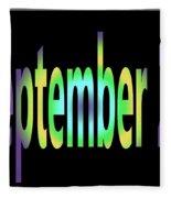 September 27 Fleece Blanket