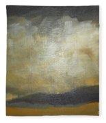 September Evening Fleece Blanket