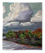 September Sky 2012 Fleece Blanket