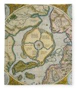 Septentrionalium Terrarum Descriptio Fleece Blanket