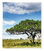 Serengeti Acacia Fleece Blanket